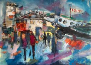 Flugplatz von Simone Hennig