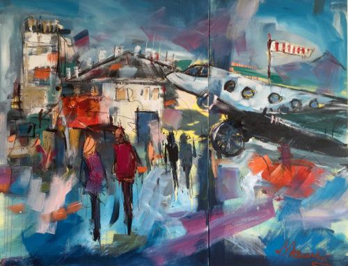 Flugplatz – 200 x 160 cm