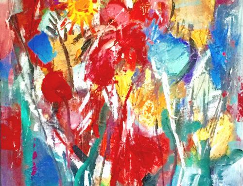 Blumen – 110 x 140 cm