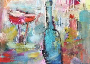 Gläser und Flaschen