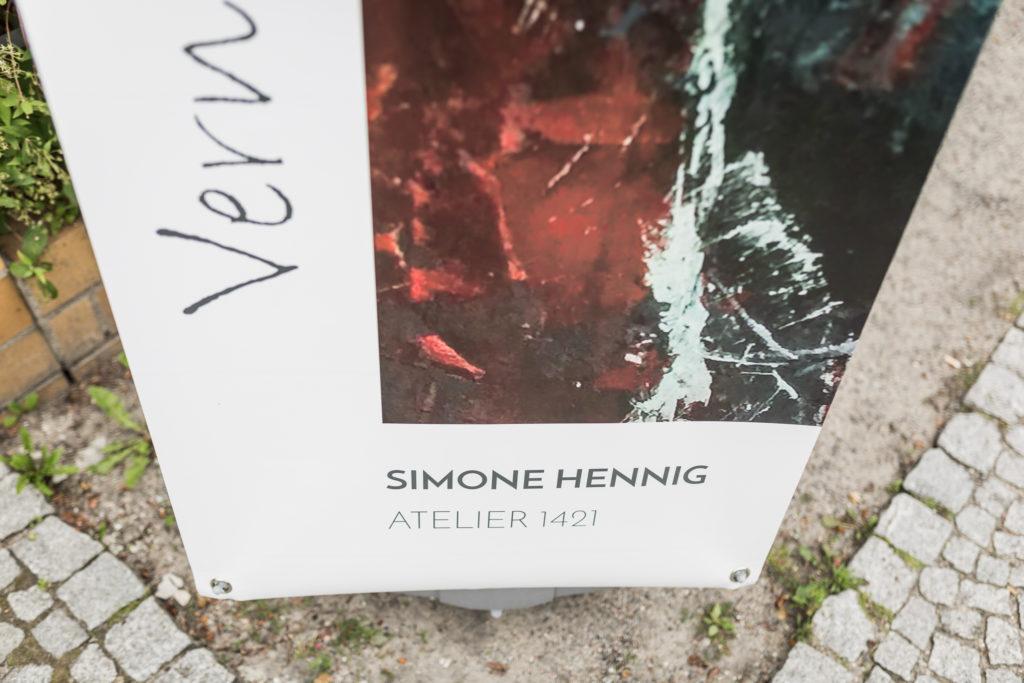 Vernissage von Künstlerin Simone Hennig am 08.07.2017