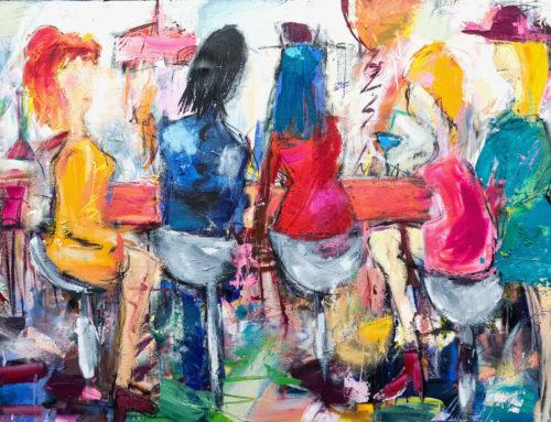 Die Künstlerinnen – 180 x 115 cm