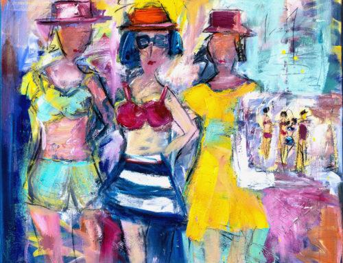 Summertime – 110 x 120 cm