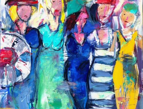 Summertime II – 110 x 120 cm